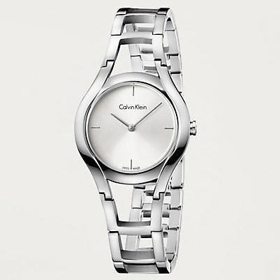 Calvin Klein - Ladies' Class, Stainless Steel Silver Dial Watch