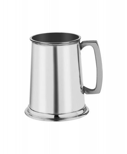 Harrison Brothers - - - Pewter Tankard, Size One Pint