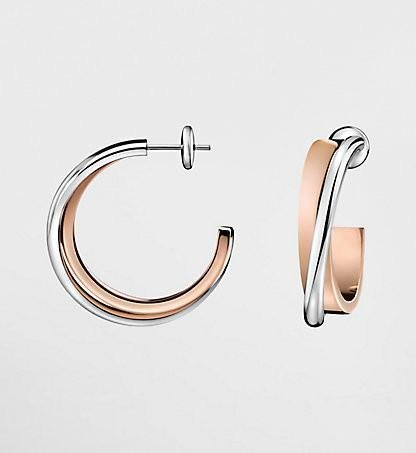 Calvin Klein - Rose Gold Plated Earrings
