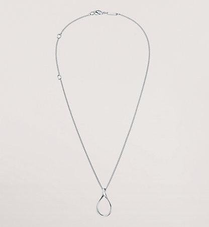 Calvin Klein - Sterling Silver Chain with Pendant, Necklace