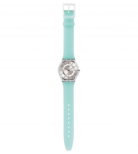 Swatch - Summer Breeze, Light Blue Set, Plastic Watch