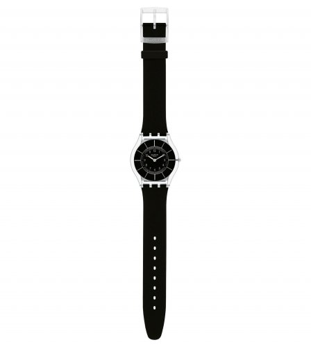 Swatch - Black Classiness, Black Resin Watch