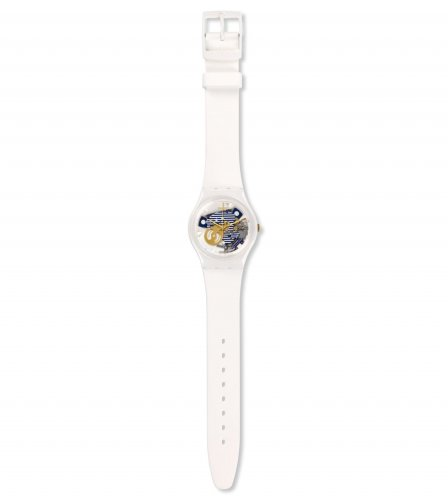 Swatch - Mariniere, Plastic and Silicone Watch
