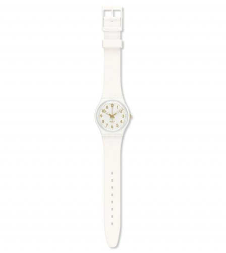 Swatch - White Bishop, Plastic and Silicone Watch