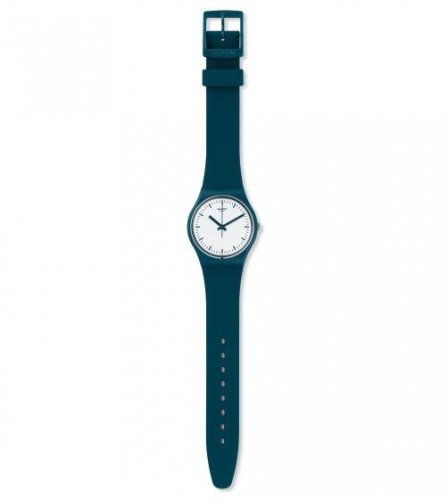 Swatch - Petroleuse, Plastic and Silicone Blue Watch