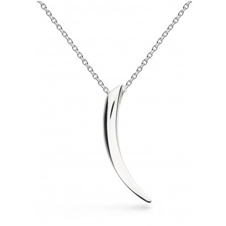 Kit Heath - Ladies Twine Thorn, Silver Necklace