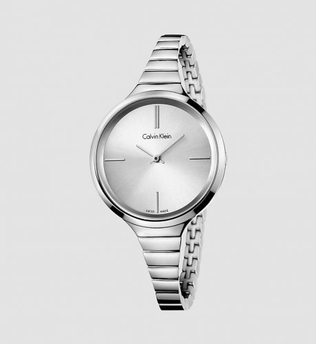 Calvin Klein - Lively, Stainless Steel Silver Dial Watch