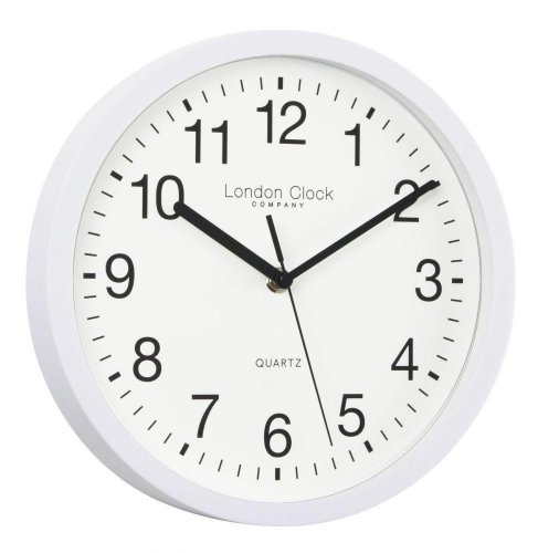 London Clock - Simple White Wall Clock