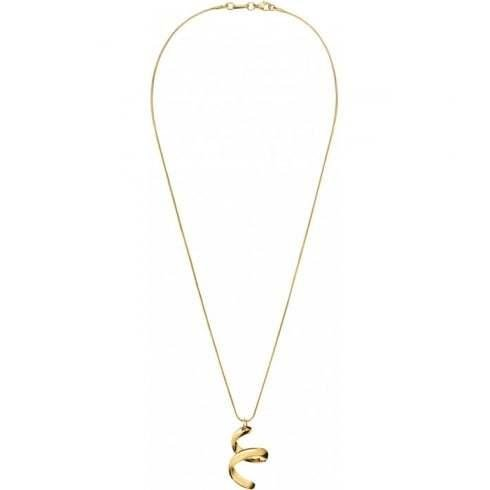 Calvin Klein - Embrace, Stainless Steel and Gold Plate Necklace