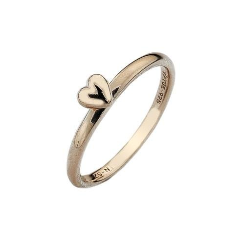 Virtue - Heart, Rose Gold Plated Ring