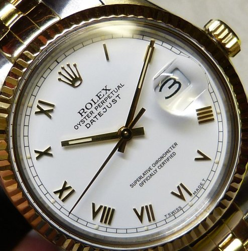 Rolex - Datejust, Yellow Gold - Stainless Steel/Tungsten - 18ct Automatic Jubilee, Size 36mm
