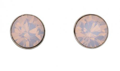 Gecko - Sterling Silver Opal Stud Earrings