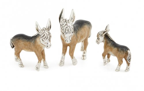 Saturno - Sterling Silver Small Donkey