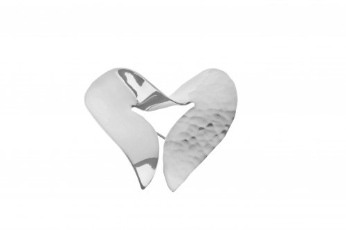 Tianguis Jackson - Sterling Silver Heart Brooch