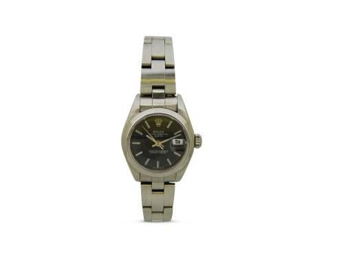 Rolex - Ladydate, Stainless Steel/Tungsten - Automatic Oyster, Size 26mm