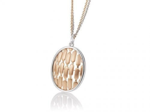Breuning - Silver and Rose Gold Plated Pendant