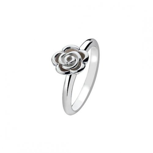 Virtue - Sterling Silver Large Rose Ring