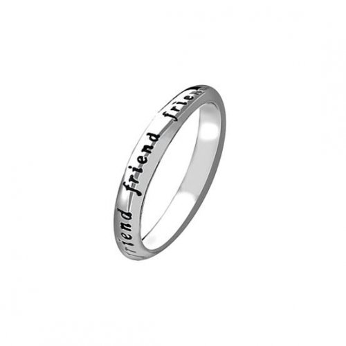 Virtue - Sterling Silver Friend Ring