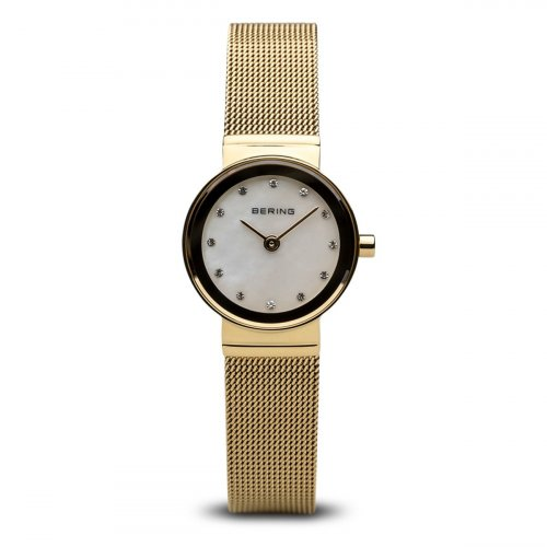 Bering - Milanese, Yellow Gold Watch