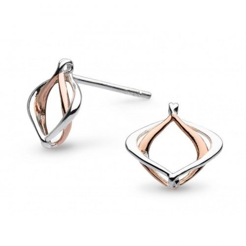 Kit Heath - Sterling Silver Entwine Alicia Stud