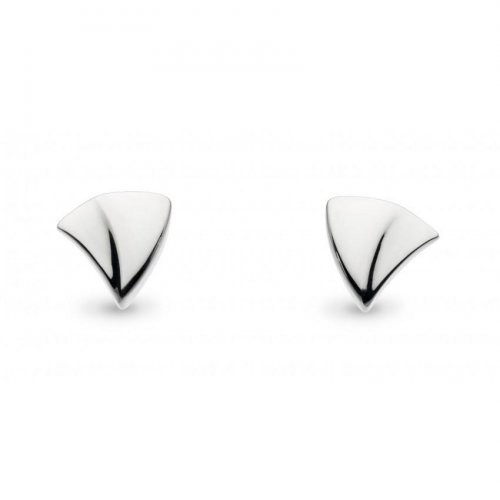 Kit Heath - Twine Thorn Wedge, Sterling Silver Stud Earrings