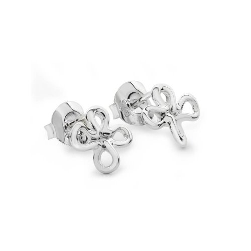 Lucy Quartermaine - Splash, Sterling Silver Studs