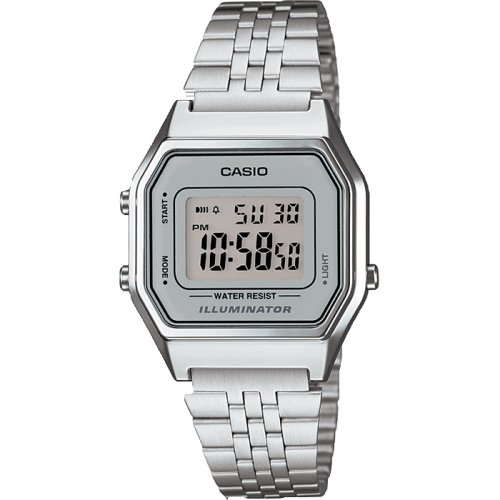 Casio - Classic Retro, Stainless Steel Digital Watch