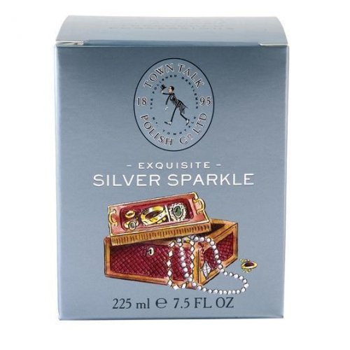 Town Talk - Exquisite Silver Sparkle, Size 225ml