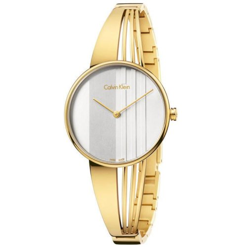 Calvin Klein - Ladies Drift, Stainless Steel, Yellow Gold Plated Watch