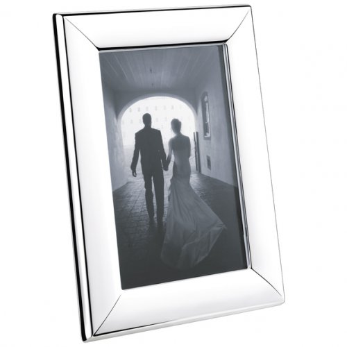 Georg Jensen - Stainless Steel Modern Picture Frame, Size 10x15cm
