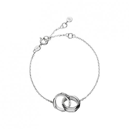 Links of London - 20/20, Sterling Silver Interlocking Bracelet