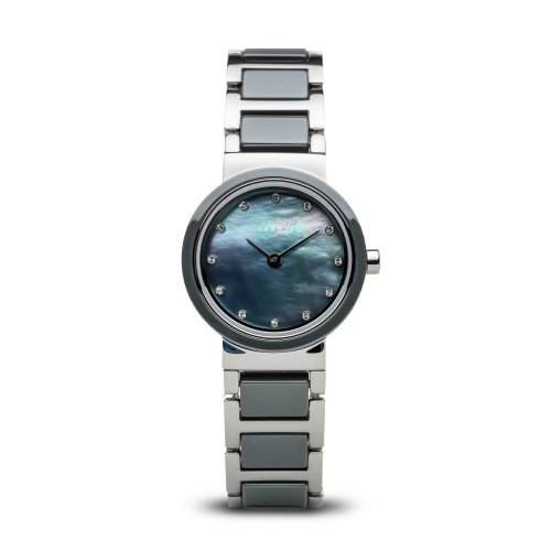 Bering - Womens Ceramic, Stainless Steel and Ceramic Watch