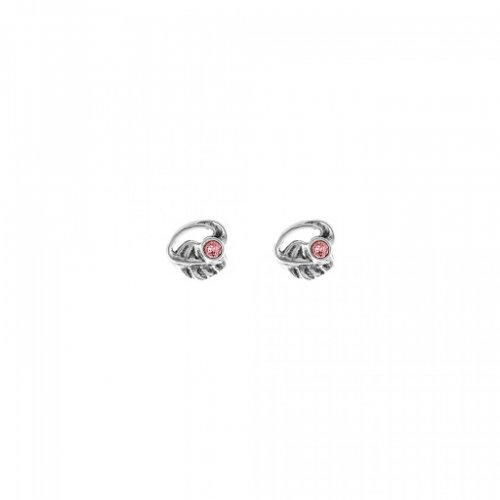 Uno de 50 - Leaves, Pink Crystal Set, Earrings