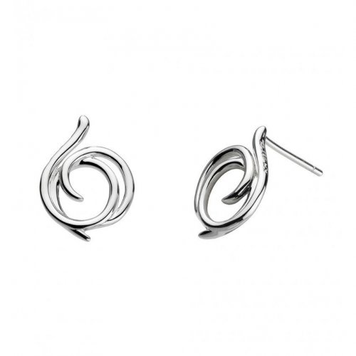 Kit Heath - Helix, Sterling Silver Large Wrap Studs