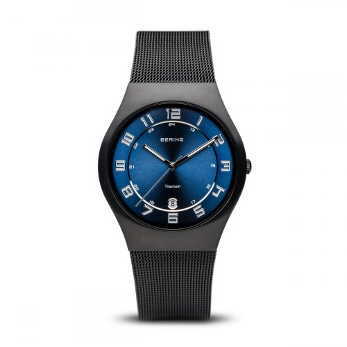 Bering - Men's Classic, Stainless Steel Black Watch