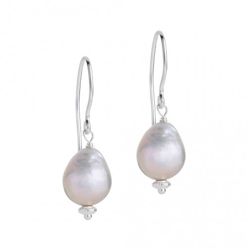 Claudia Bradby - Margarita, Pearl Set, Sterling Silver Earrings