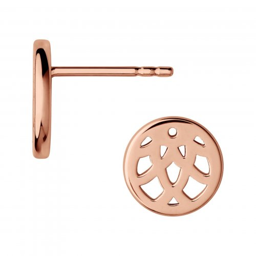 Links of London - Timeless, Rose Gold Vermeil Stud Earrings