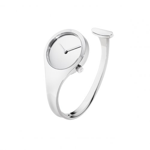 Georg Jensen - Vivianna, Stainless Steel Mirror Watch, Size Small