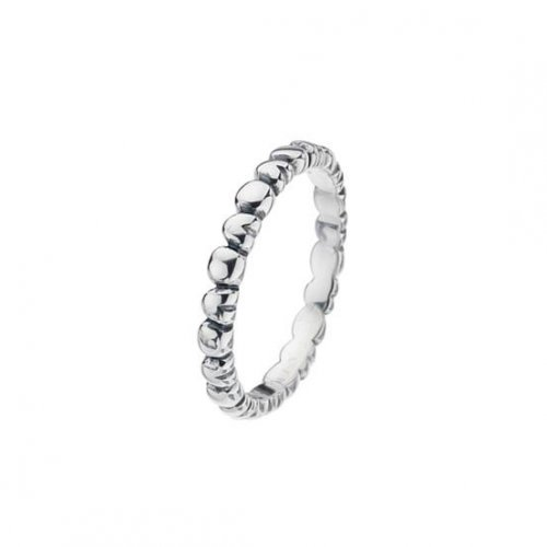 Virtue - Sterling Silver Alternate Heart Band Ring