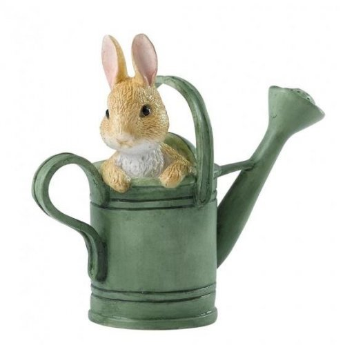 Enesco - Peter Rabbit in Watering Can Mini Figure