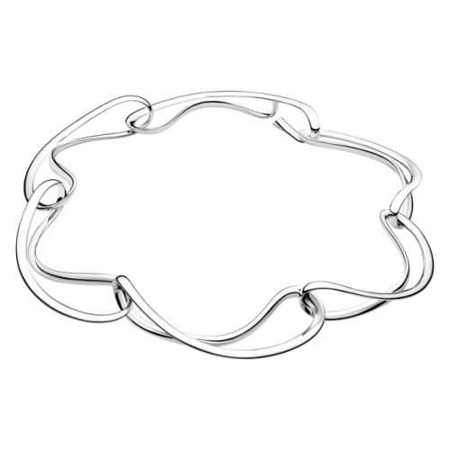 Georg Jensen - Infinity, Silver Necklace