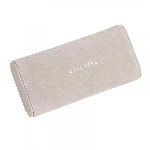 Stackers - Stone Velvet Bracelet / Watch Pad Jewellery Box Accessory