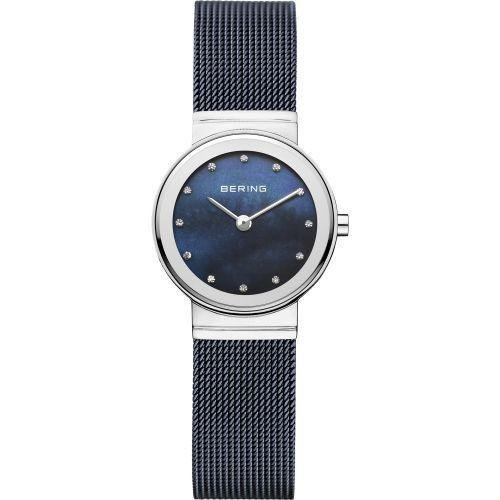 Bering - Classic, Swarovski Crystals Set, Stainless Steel Ultra Slim Design Watch