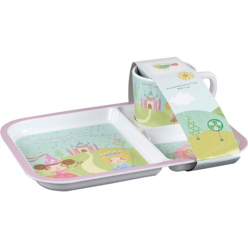 Churchill - Cinderella Melamine Tray and Mug Set