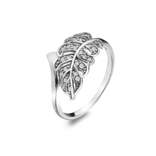Virtue - Cubic Zirconia Set, Sterling Silver Pheonix Ring