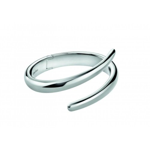 Calvin Klein - Embrace, Stainless Steel Crossover Bangle, Size M