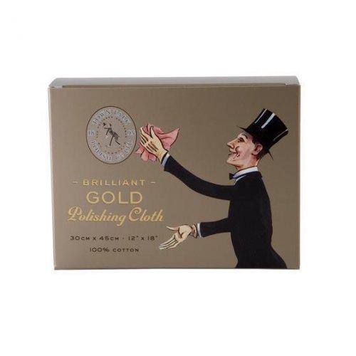 Town Talk - Brilliant Gold Polishing Cloth, Size 30cm x 45cm