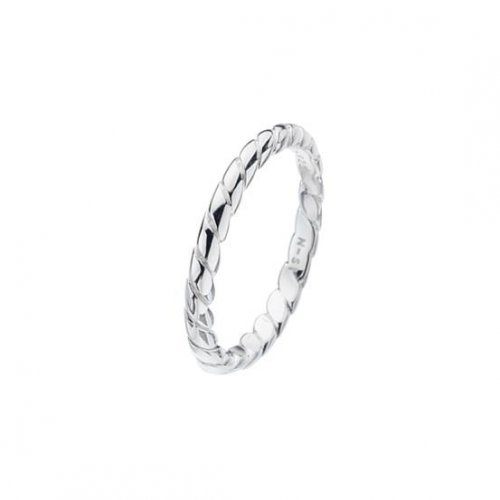 Virtue - Sterling Silver Twist Band Ring