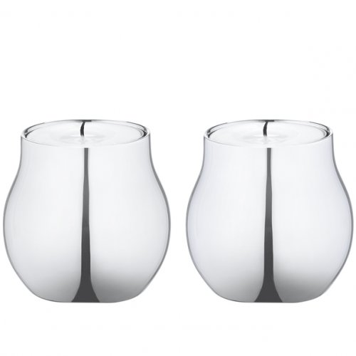 Georg Jensen - Stainless Steel Cafu Tealight Holders