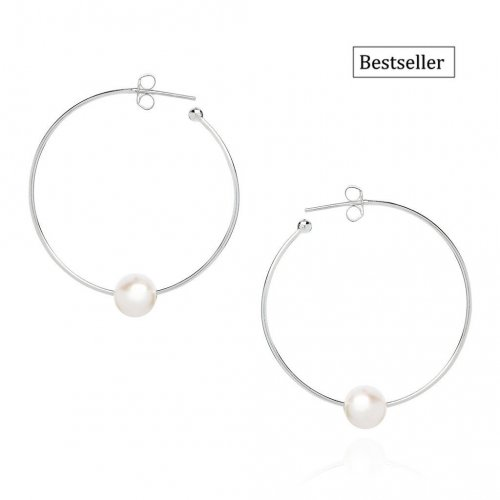 Claudia Bradby - Essential, Pearl Set, Sterling Silver Earrings